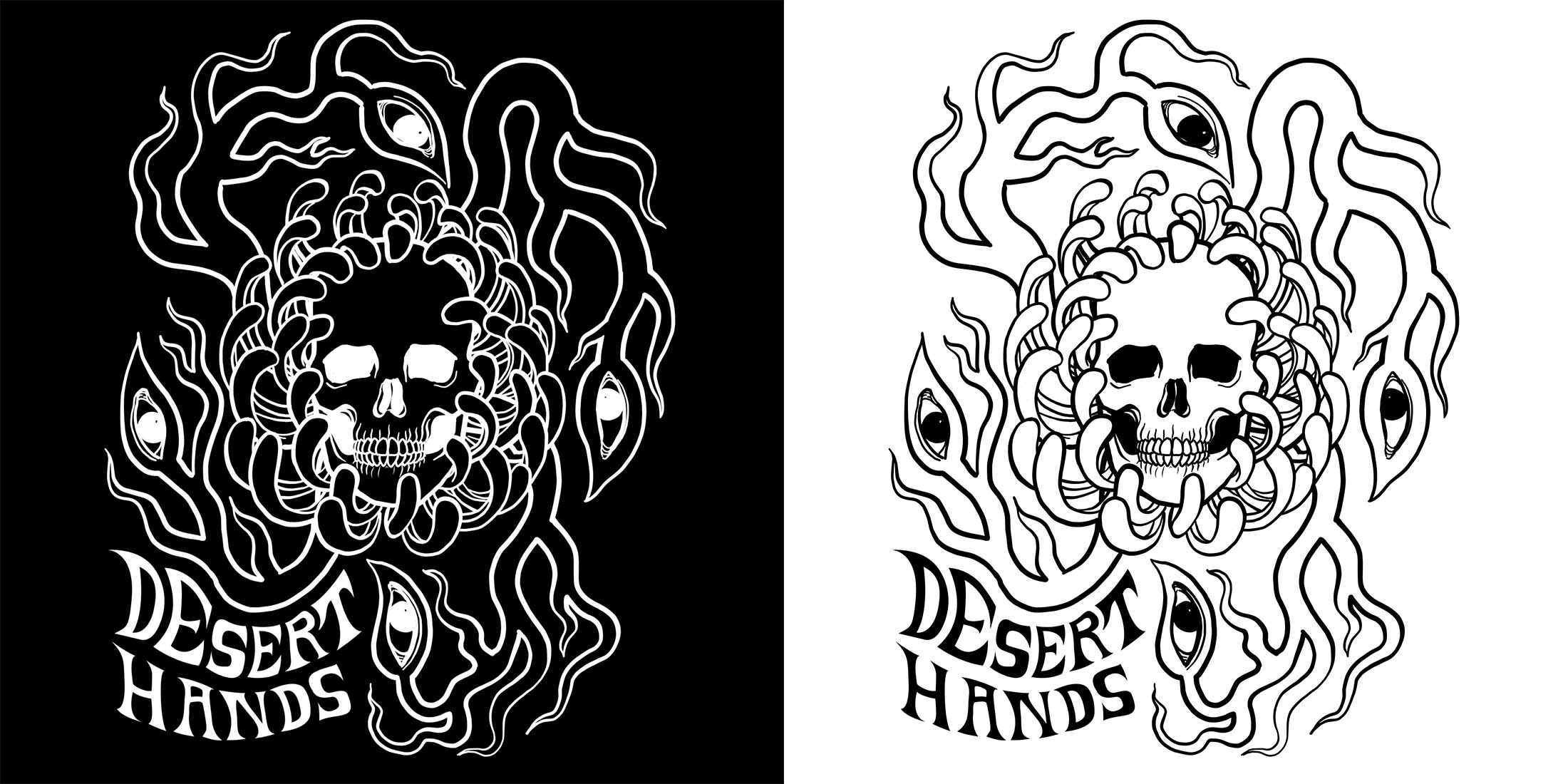Desert Hands Commission - Front Design.jpg