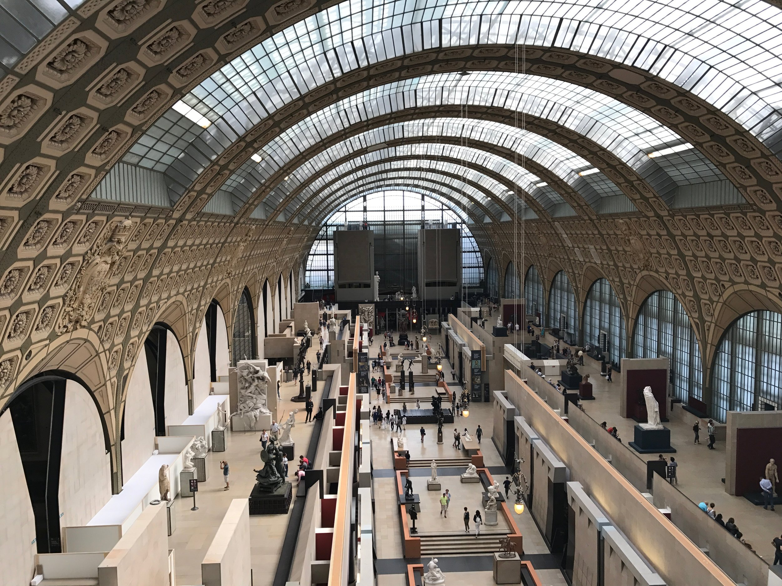 The main hall of Musée d'Orsay