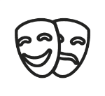 Tiene experiencia en teatro como dramaturgo, actor y productor de obras para niños y adultos.