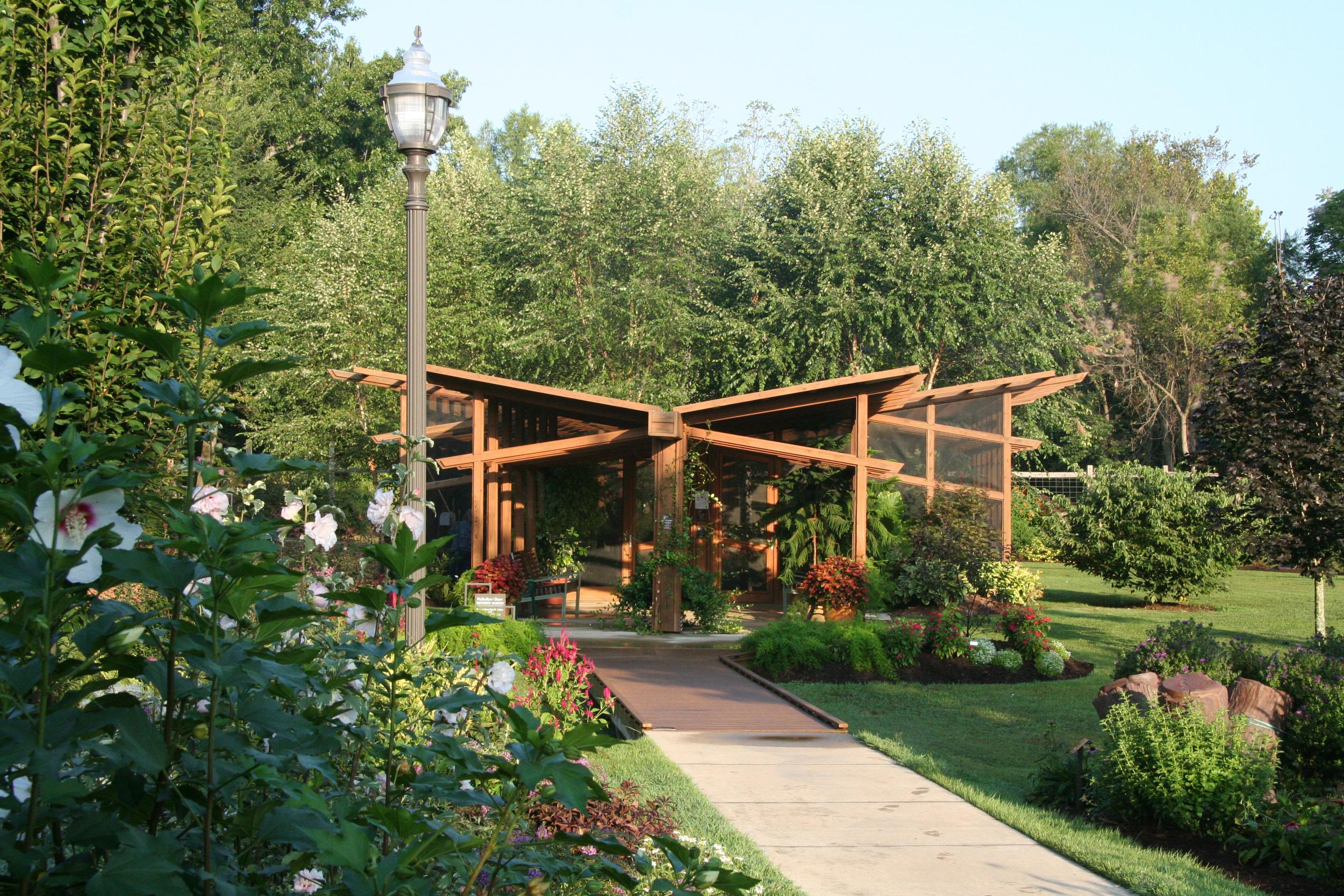 Butterfly Pavilion - Approach