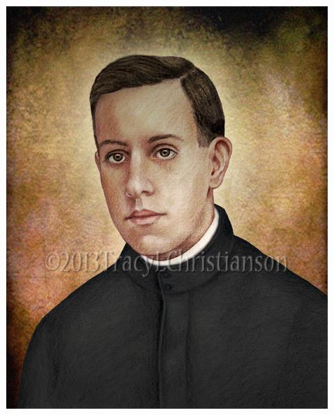 Blessed Miguel Agustin Pro1891 - 1927Feast Day: November 23rd - José Ramón Miguel Agustín Pro Juárez,also known as Blessed Miguel Pro was a Mexican Jesuit Catholic priest.Falsely accused in the bombing attempt on a former Mexican president, Miguel became a wanted man. Betrayed to the police, he was sentenced to death without the benefit of any legal process.On the day of his execution, Fr. Pro forgave his executioners, prayed, bravely refused the blindfold and died proclaiming,