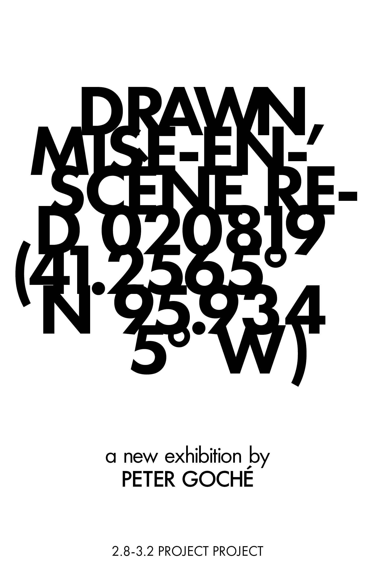 Drawn, Mise-en-scène Red 020819 (41.2565° N 95.9345° W) - Peter Goché