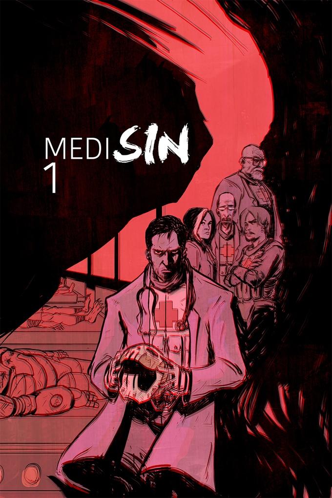 Medisin - Who provides healthcare for super villains? E.R. meets Heroes. A 6-part mini-series.