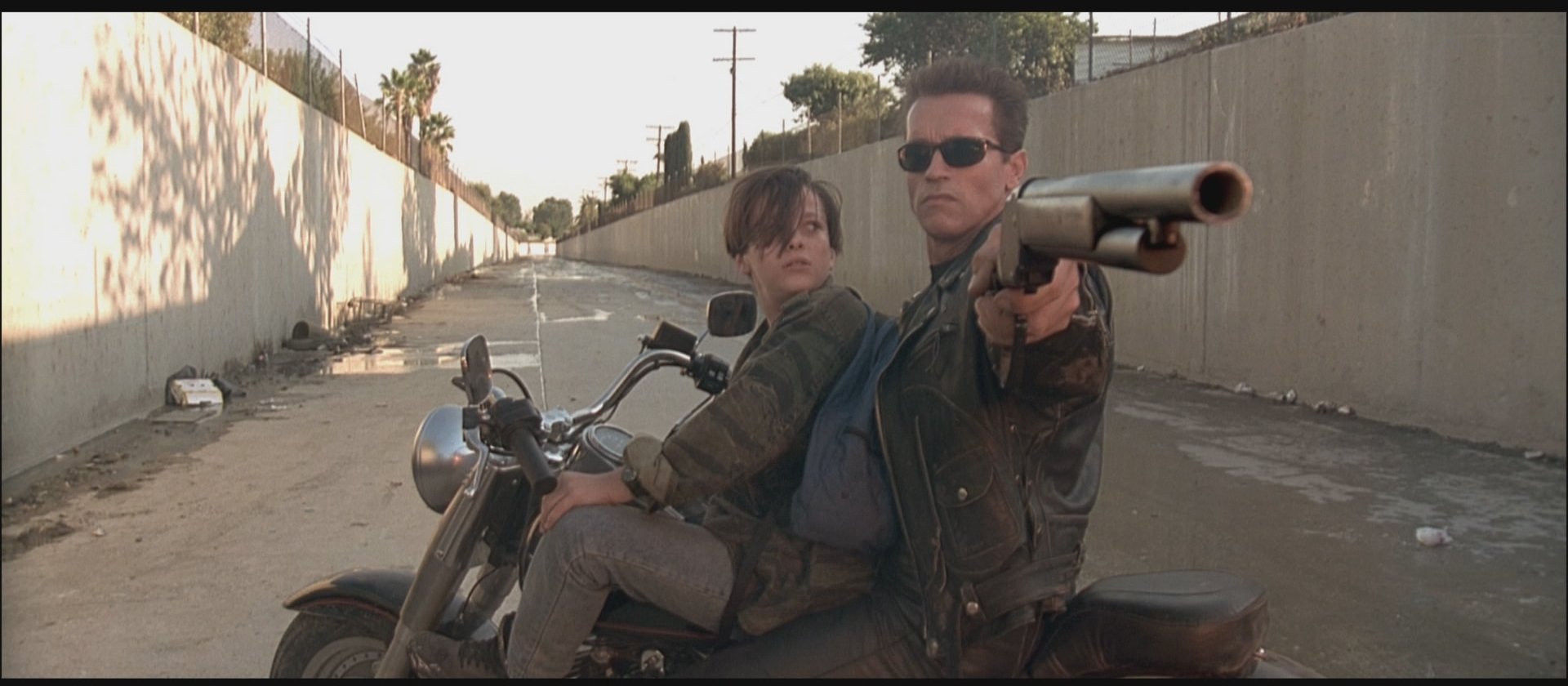 THE TERMINATOR IS SENT TO SAVE JOHN CONNOR