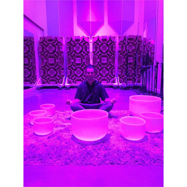 Me and my crystal bowl babies