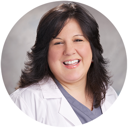 "Diane     Mammo/X-Ray/BD Technologist     ""No matter how hard our job gets, we are encouraged when we see smiling patients."""
