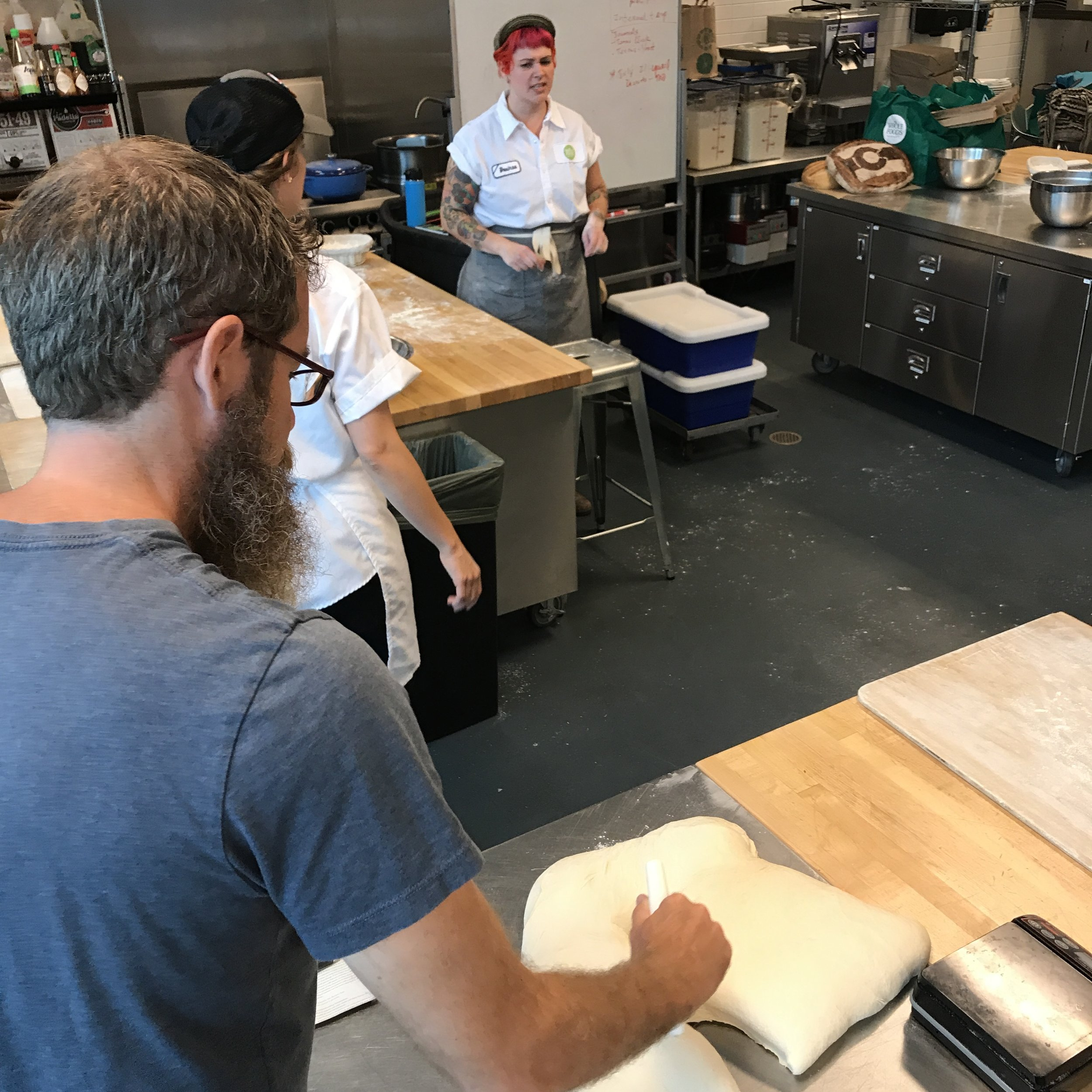 Learning the ropes about making (and caring for) your own Sourdough starter.