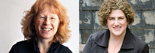 Sian Edwards (Left) and Rebecca Miller (Right)