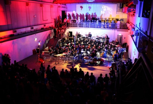 Performance at Ambika for the orchestral club night (Photo: Southbank Sinfonia)