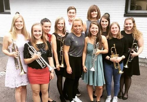 The Voksen åsen Trumpet Class, 2016