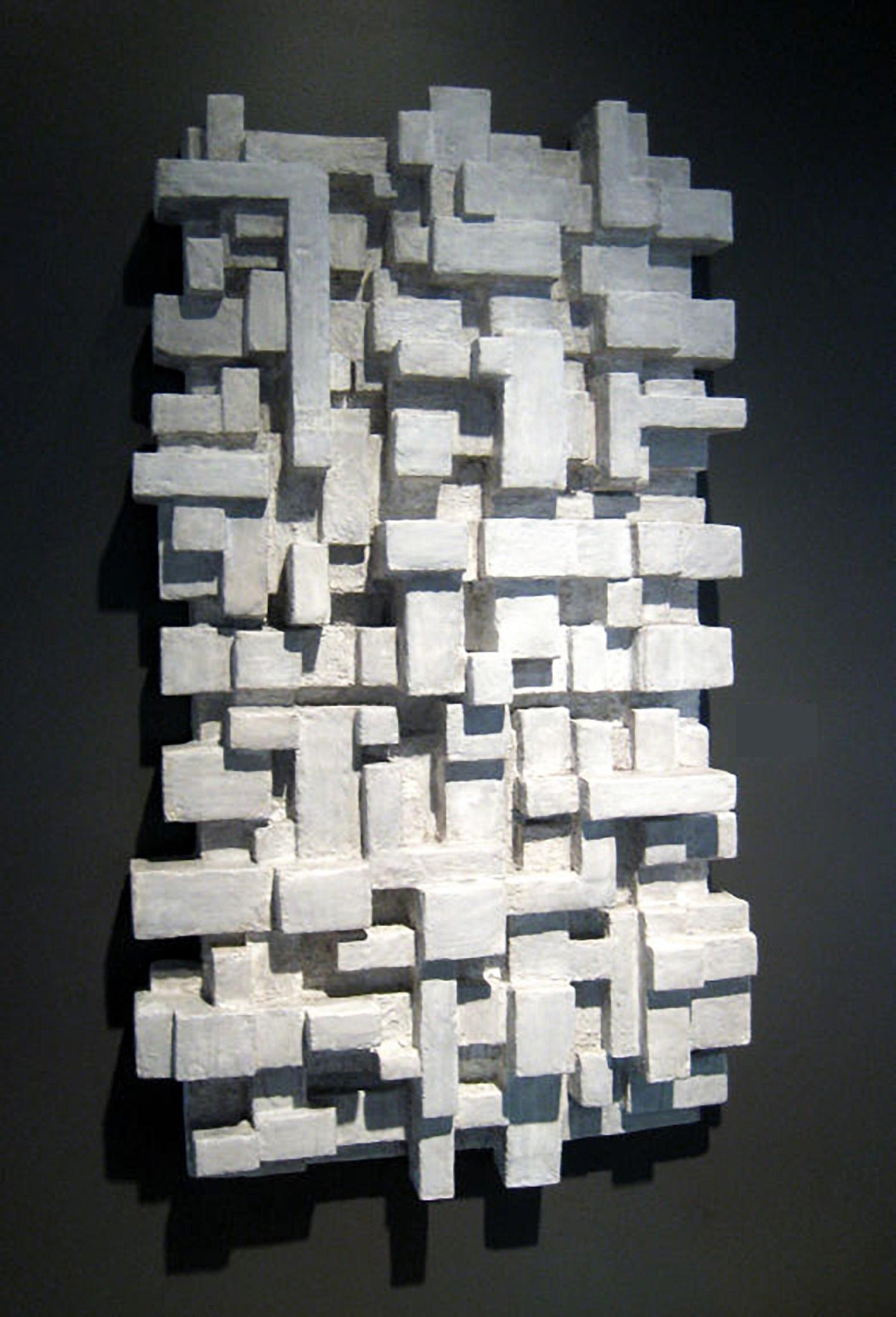 "BRIE SOLEIL, Mixed Media, 30"" x 48"" x 8"", 2012"