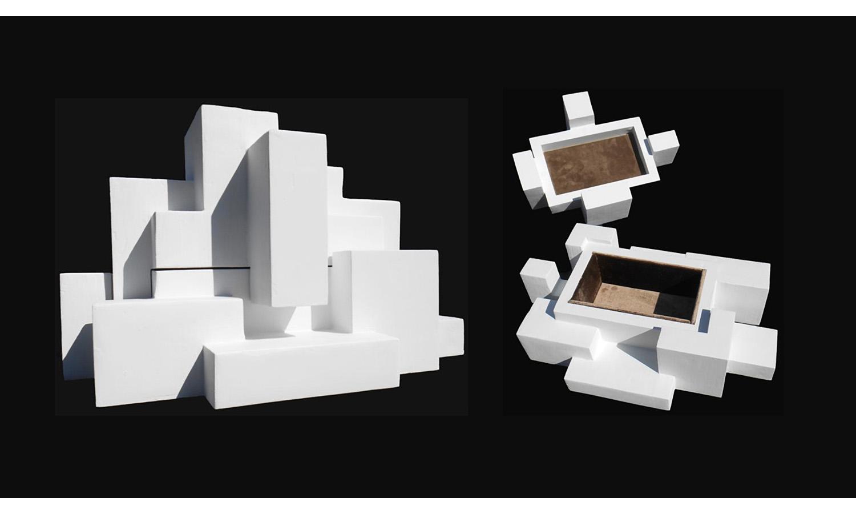 "DECORATIVE BOX, mixed media, 17.5"" x 12"" x 10"", 2017"