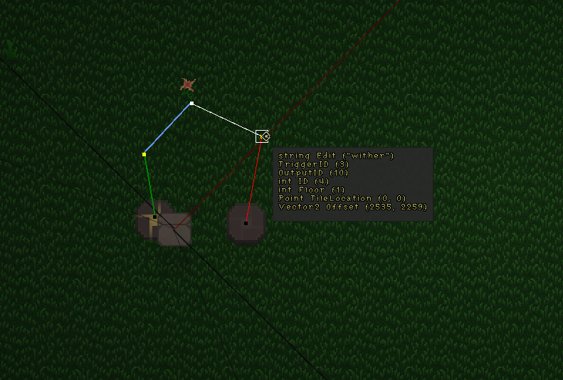 An example of the object's variables you can edit.