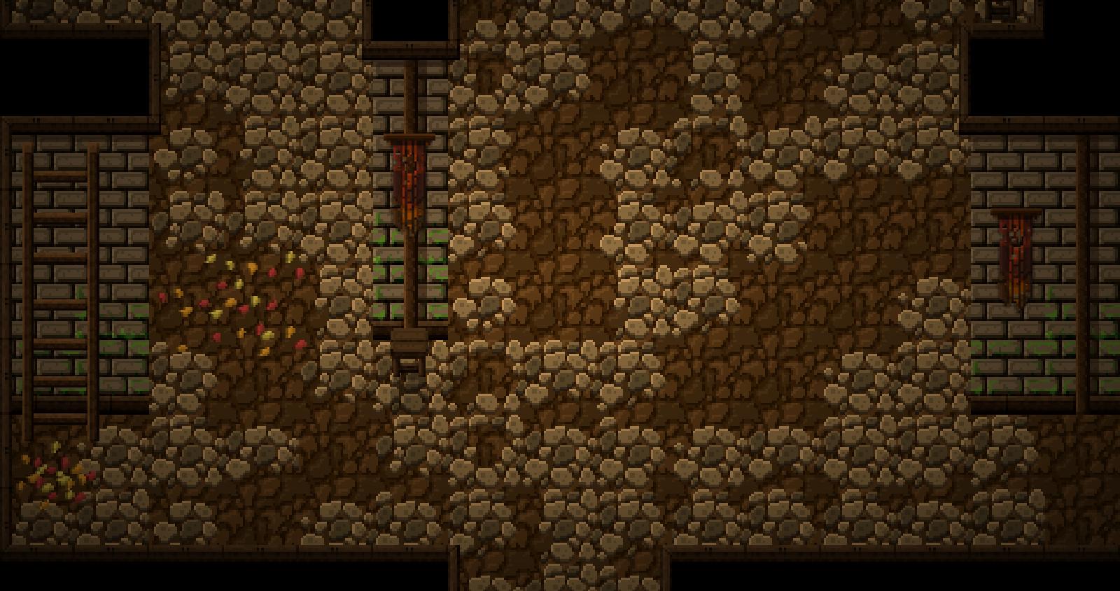 The temple cellar.