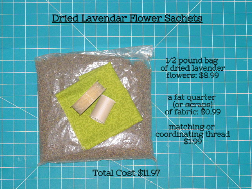 Easy Dried Lavender Flower Sachets -MIY with Melissa