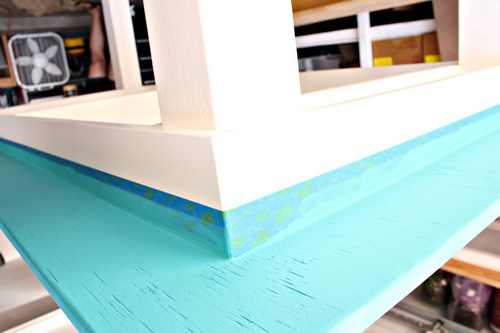 Easy DIY Craft Table -MIY with Melissa