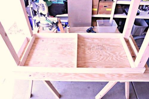 Easy DIY Craft Table -MIY with Melissa