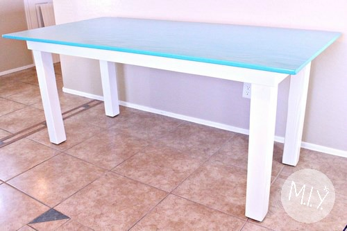 A Simple Construction Craft Table Make It Yours With Melissa