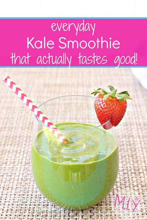 Easy, Tasty Kale Smoothie Recipe -MIY with Melissa