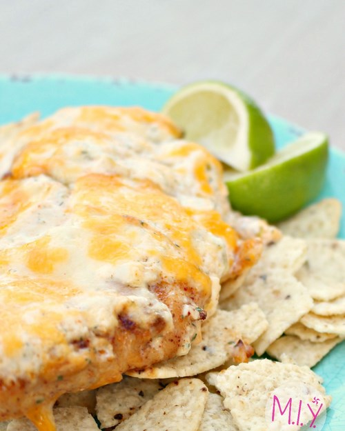 Tequila Lime Chicken with Homemade Mexi-Ranch -MIY with Melissa