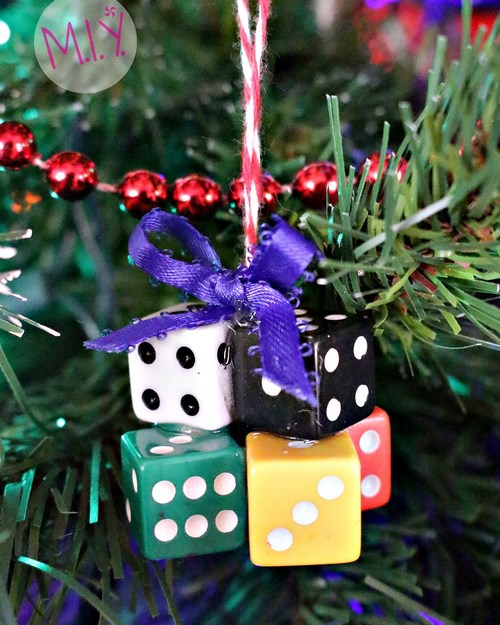 Dice Ornament -MIY with Melissa