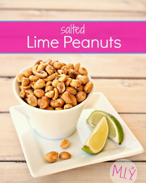 Salted Lime Peanuts -MIY with Melissa