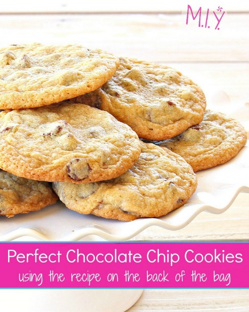 2 Simple Steps to Perfectly Baked Chocolate Chip Cookies -MIY with Melissa