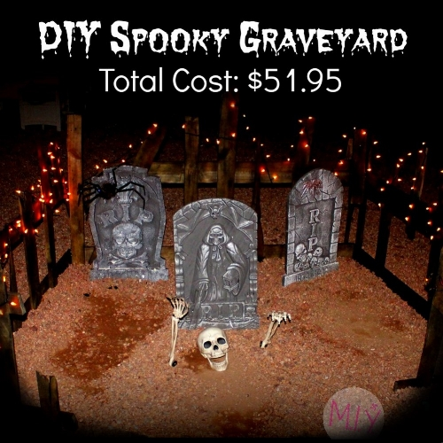 How to DIY a Spooky Graveyard Scene -MIY with Melissa
