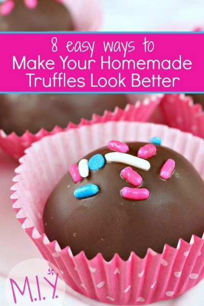 8 Tips for Better Homemade Truffles -MIY with Melissa
