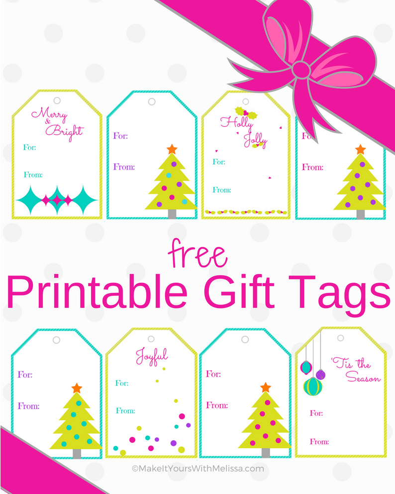 It's Gonna Be a Bright Christmas Printable Gift Tags Thumbnail.png