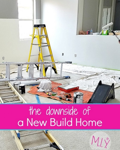 Struggles of a New Build Home -MIY with Melissa