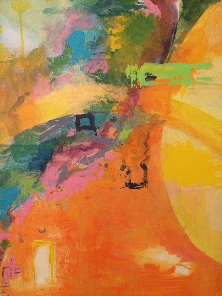 """Sunshine Daydream"", 24"" x 18"", Acrylic on Canvas"