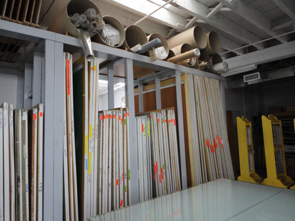 Organized Silk Screens