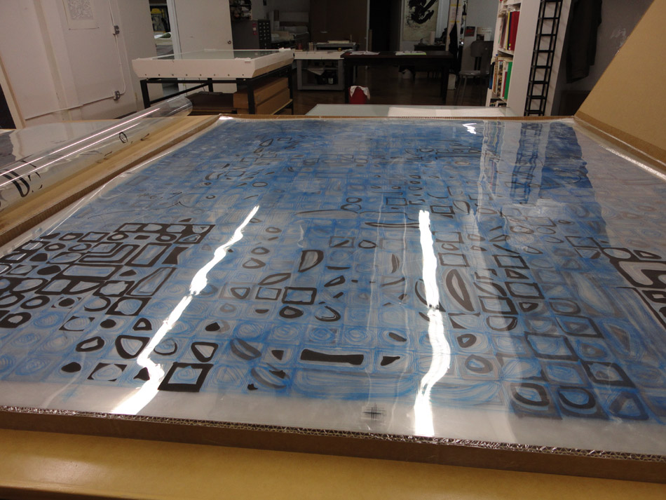 Sheets for screen stencil