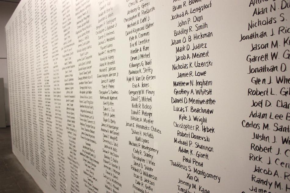 Cost of War Names
