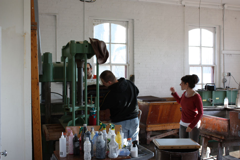 University of Iowa Paper Studio