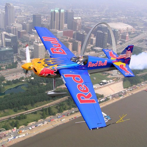 Red Bull Plane Ethan Carlson modeled from