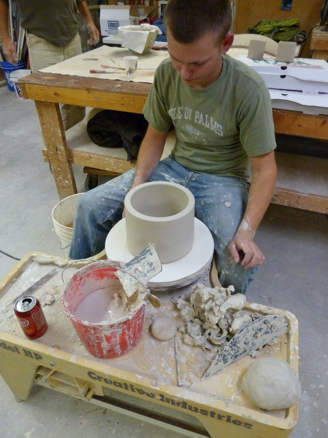 Throwing Cylinders for Don Reitz