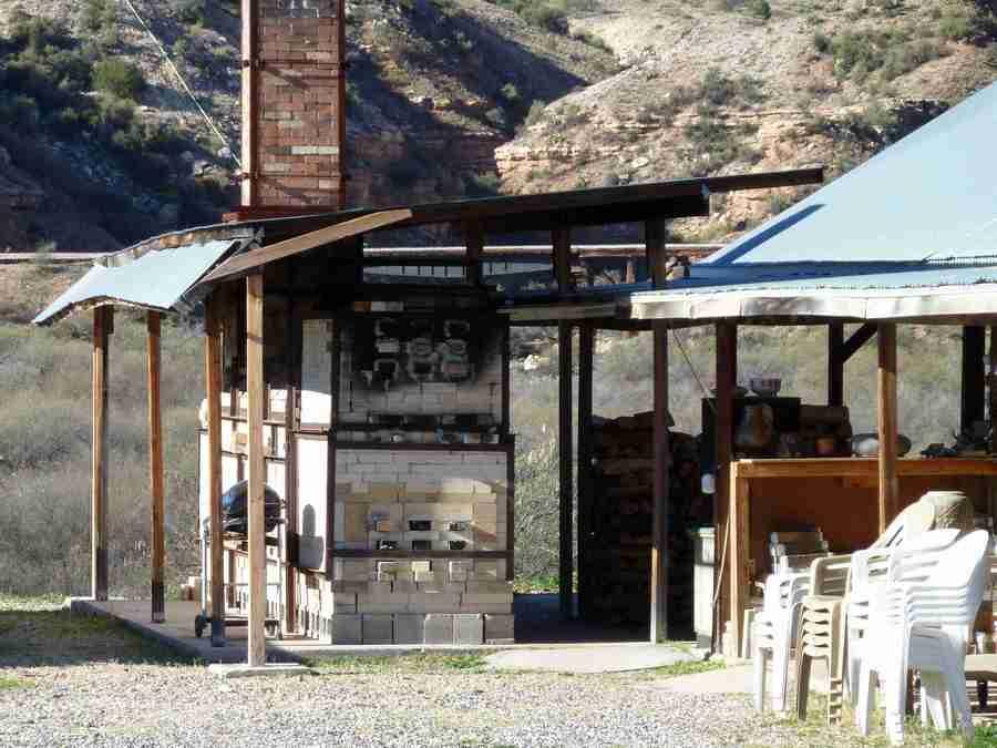 Train Kiln over Sycamore Canyon