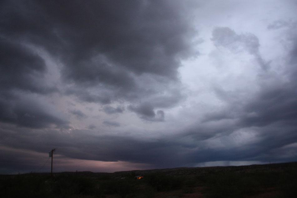 Lightning Striking over Don Reitz's House
