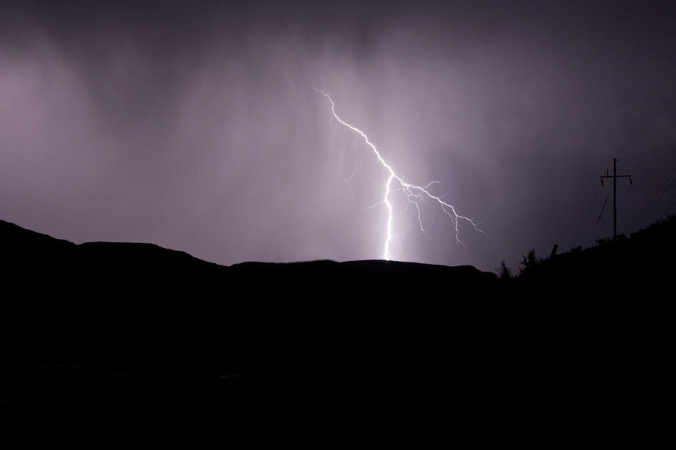 Sycamore Canyon Lightning