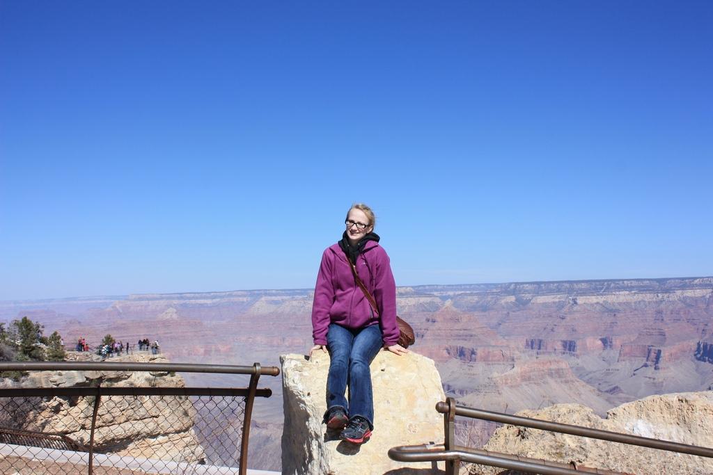 Jessica @ Grand Canyon South Rim 2012