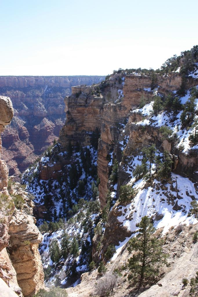 Snow @ Grand Canyon South Rim 2012