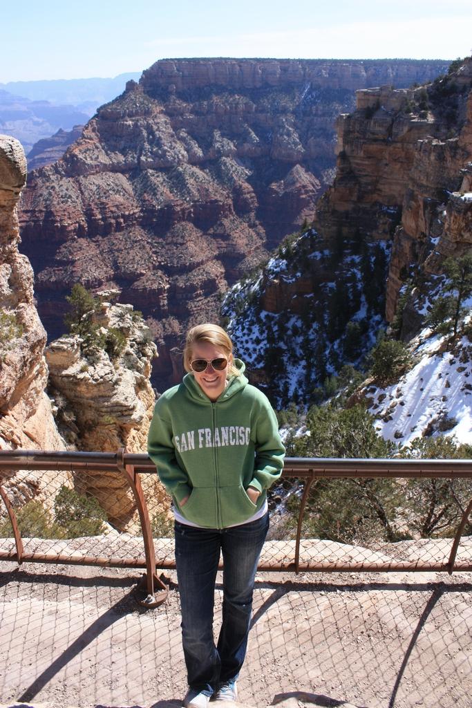 Kami @ Grand Canyon South Rim 2012