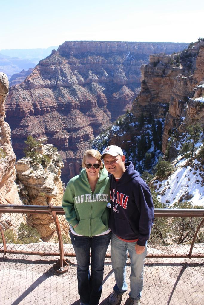 Kami and I Grand Canyon South Rim 2012