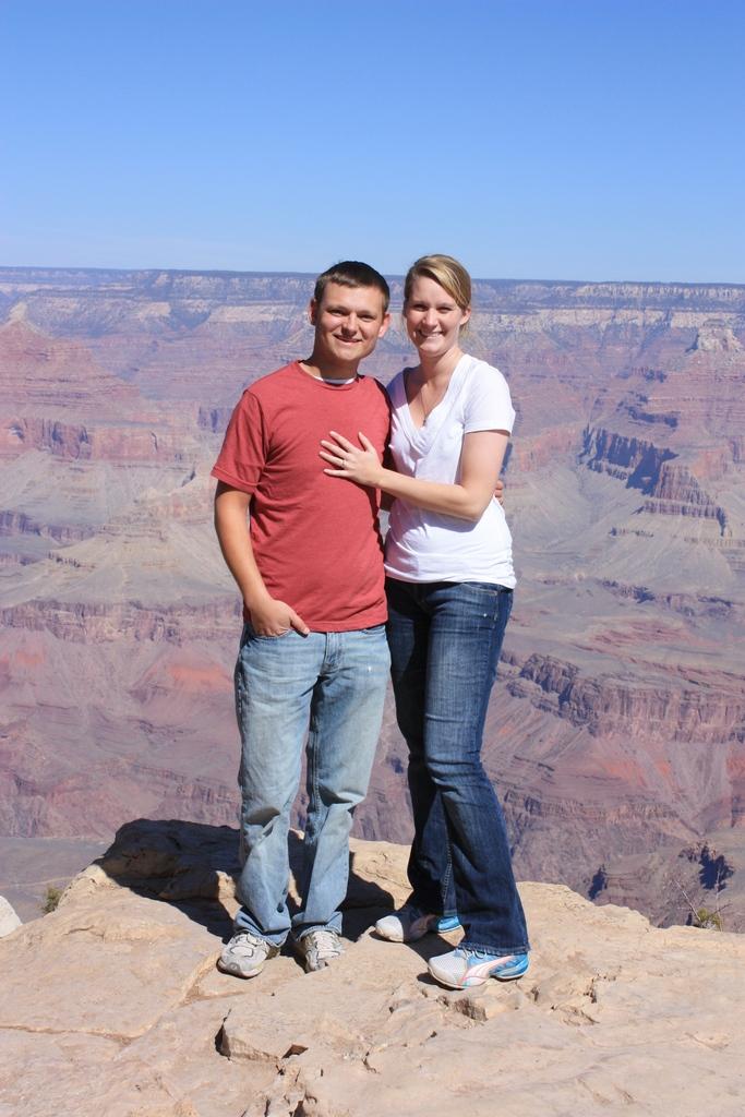 Kami and I @ Grand Canyon South Rim 2012