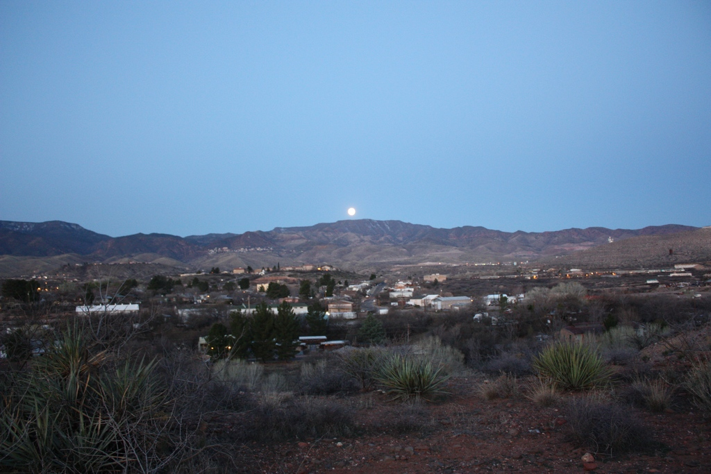 Moon over Jerome