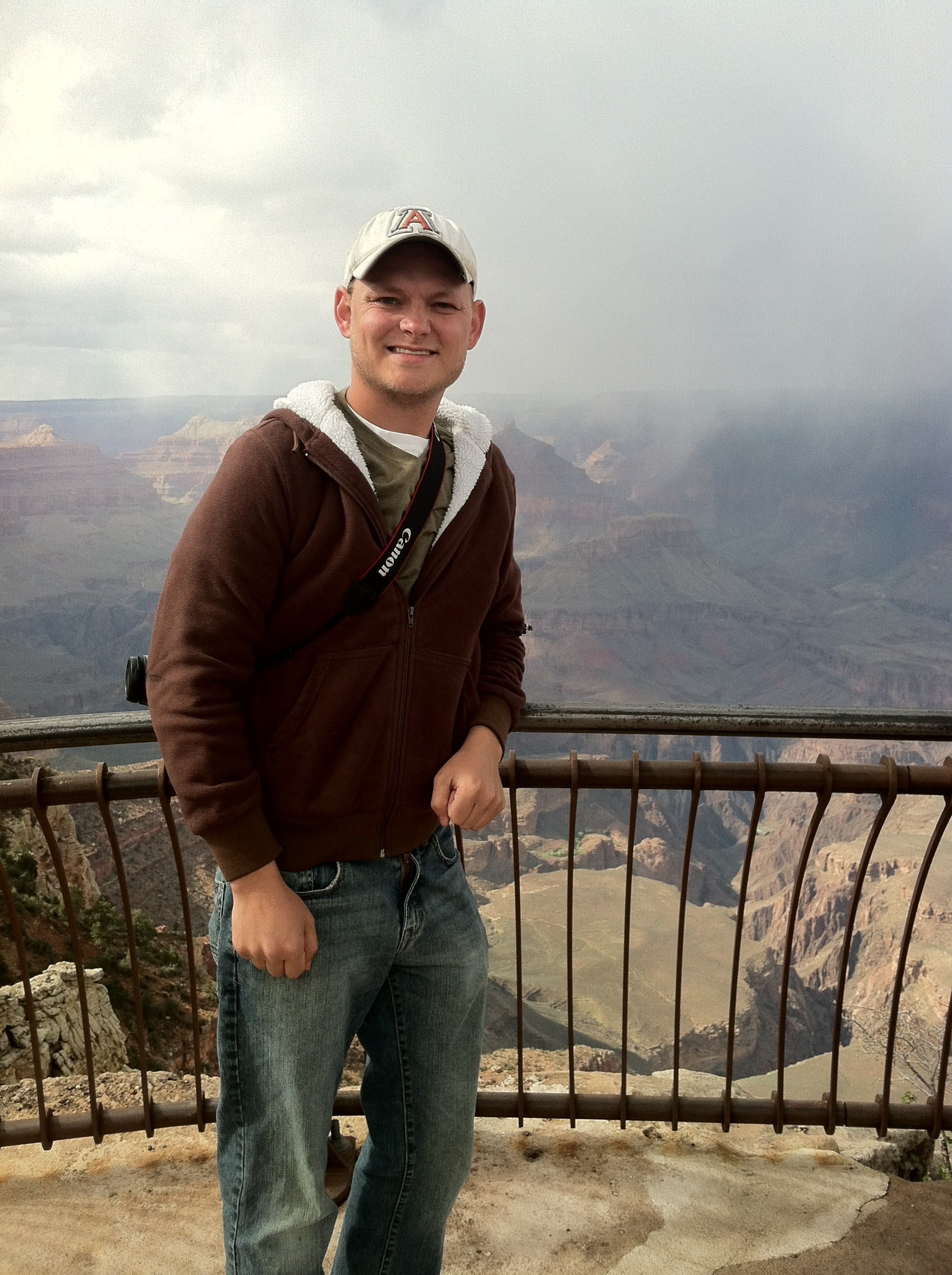 Me at the Grand Canyon South Rim 2012