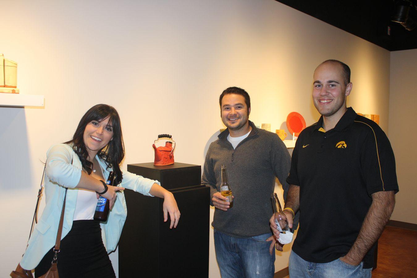Sarah Roti, Dale Pilon, Abe Saleh