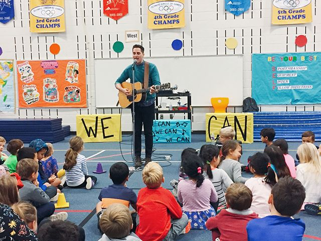 Amazing day today with the students at Barton Creek Elementary School in Austin, TX. The newest addition to The We Can Project community! Interested in bringing The We Can Project to your school? Click the link in profile or visit wecanwecanwecan.com for more info. @bcebluejays * * * * * * * #wecanwecanwecan #wecan #thewecanproject #dream #dreambig #inspire #goal #goals #communty #bartoncreek #school #elementary #projectlearning #service #communityservice #servicelearning